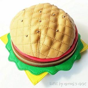 Betsey Johnson  Kitsch Cheeseburger Wristlet